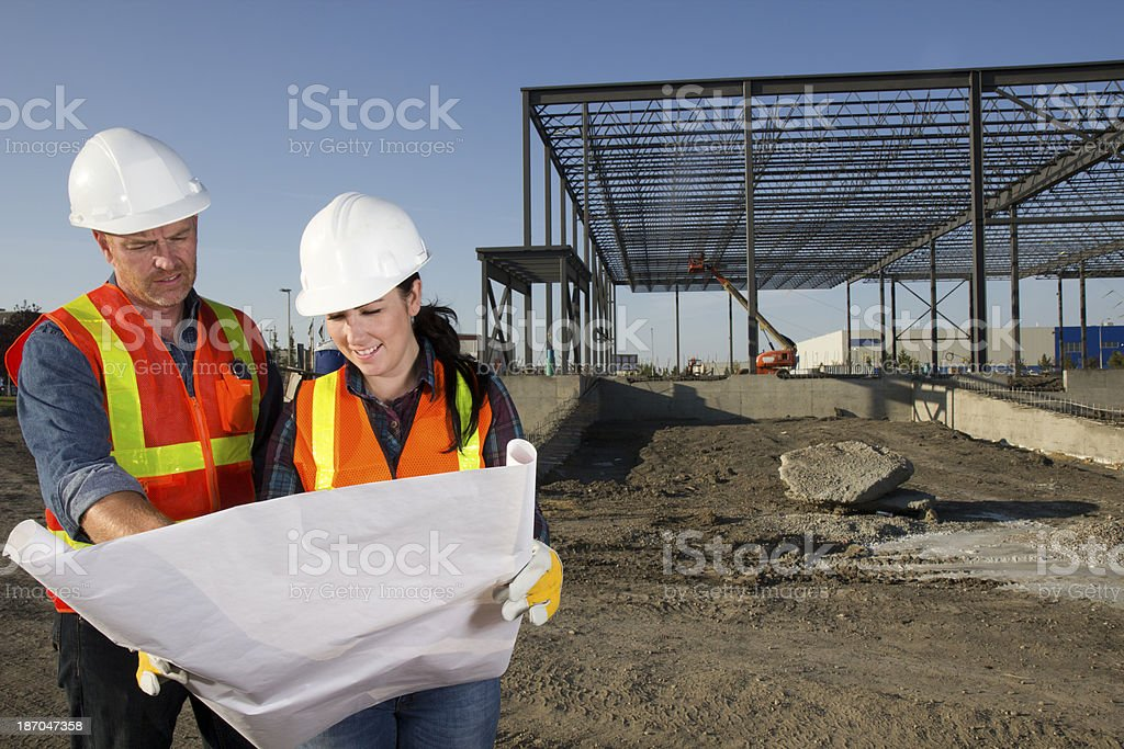 Building Architects royalty-free stock photo