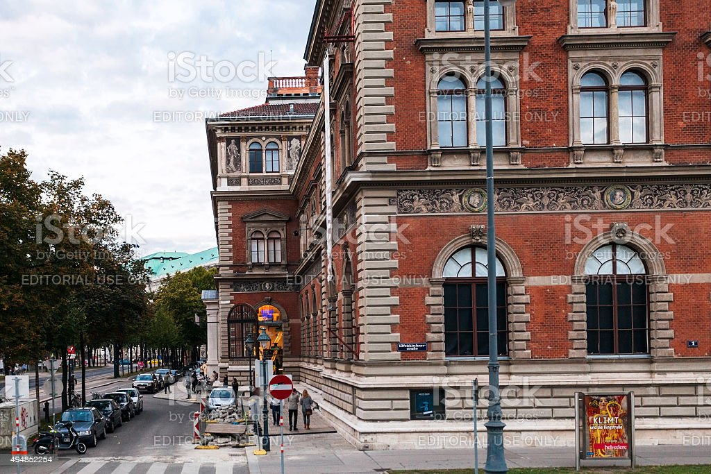 Building Austrian Museum Of Applied Art Vienna Stock Photo Download Image Now Istock