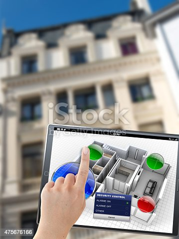 475693130 istock photo Building automation controls 475676166