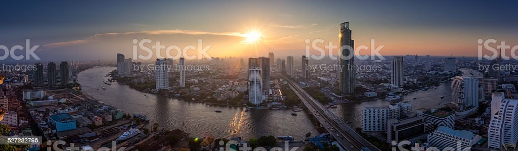 Building Bangkok, Thailand stock photo