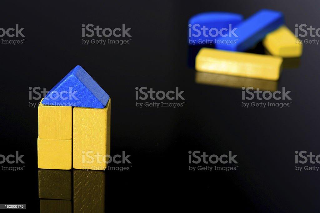 Building blocks 1 royalty-free stock photo
