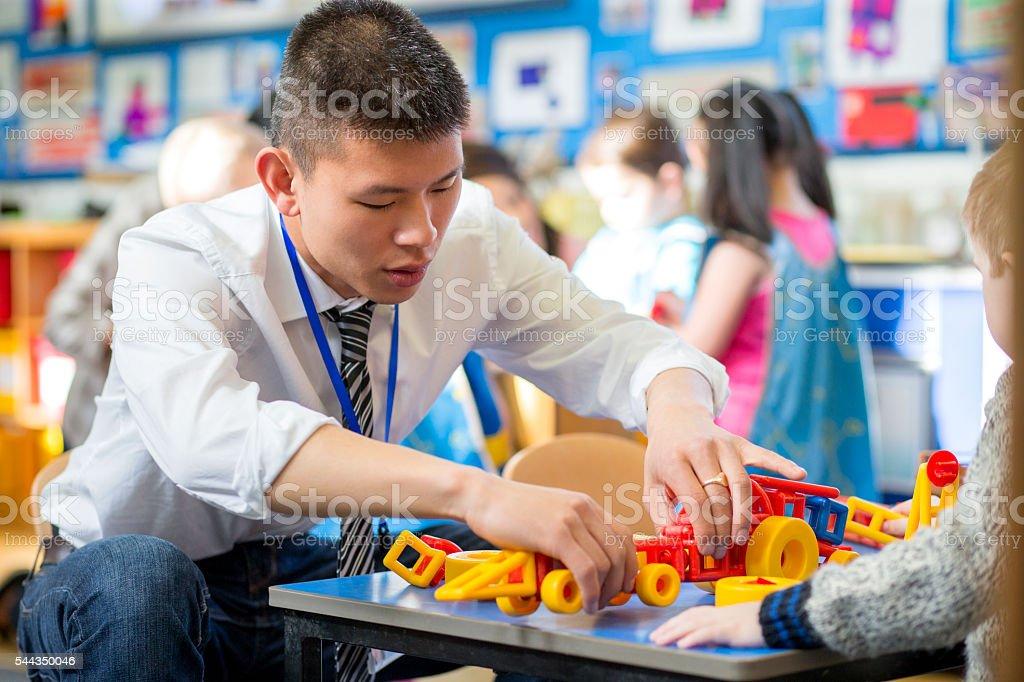 Building Blocks at Nursery stock photo