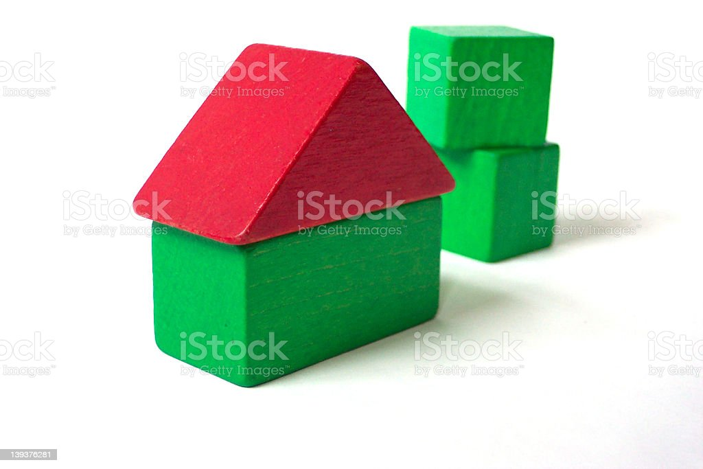 Building blocks royalty-free stock photo
