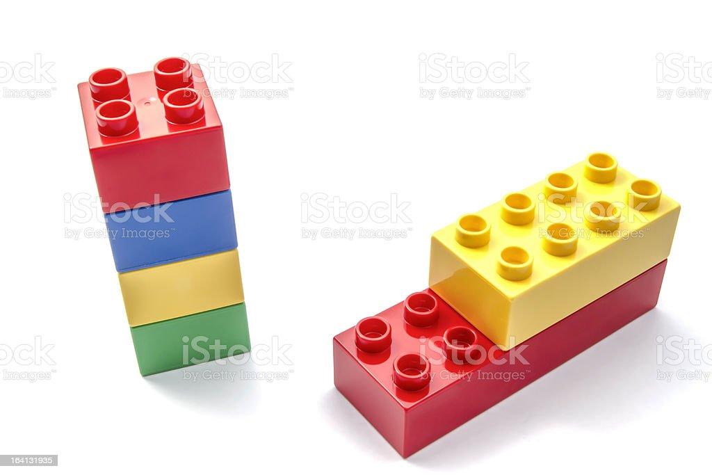 Building blocks royalty-free stock photo