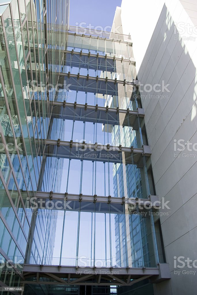 building blue royalty-free stock photo