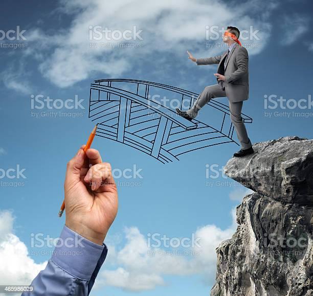 Building Bridges Assistance For Business Stock Photo - Download Image Now