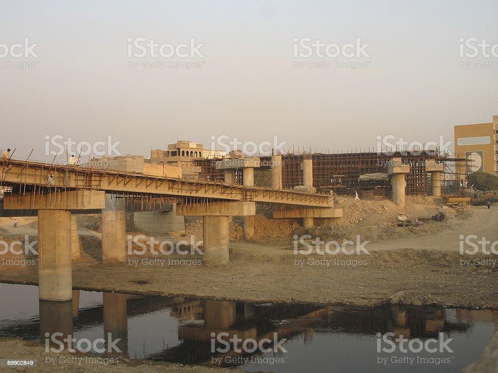 Здания, мосты Стоковые фото Стоковая фотография