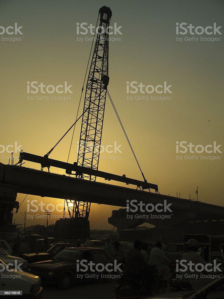 Building Bridges royalty-free stock photo