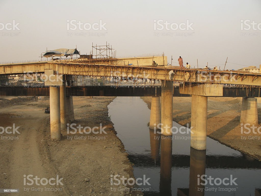 Building Bridges royalty-free stock photo