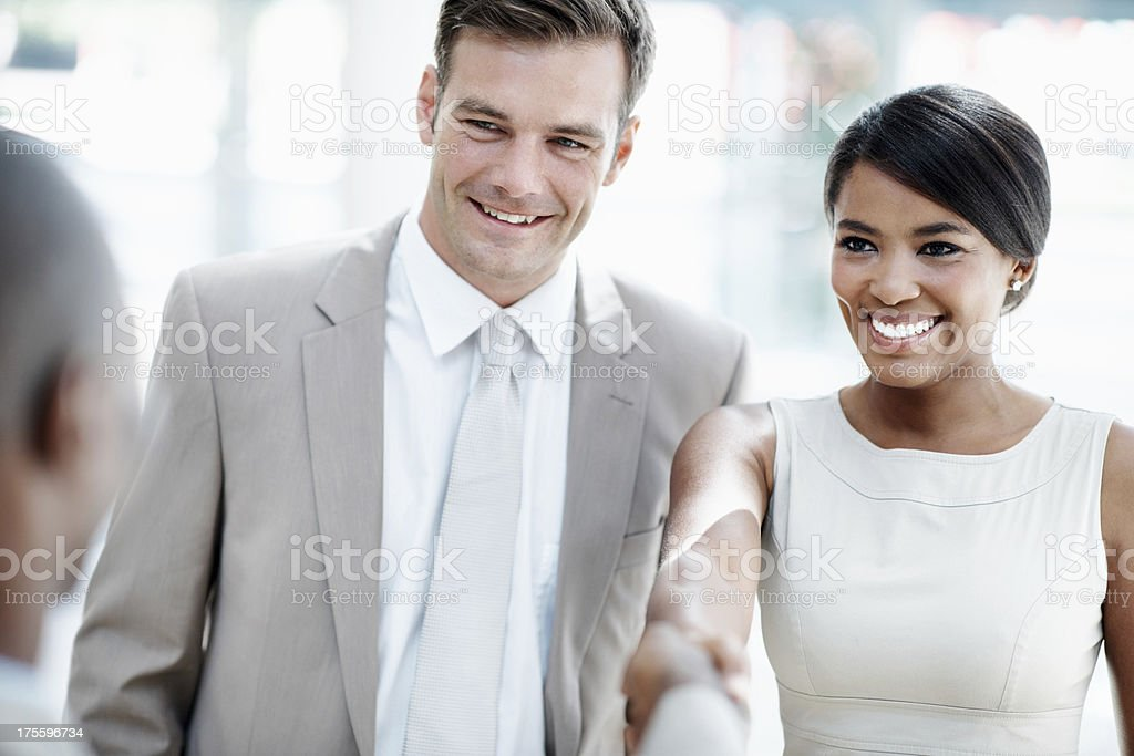 Building business relationships royalty-free stock photo