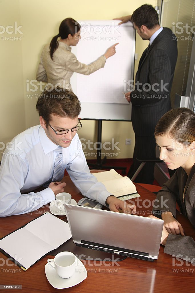 building business strategy - Royalty-free Adult Stock Photo