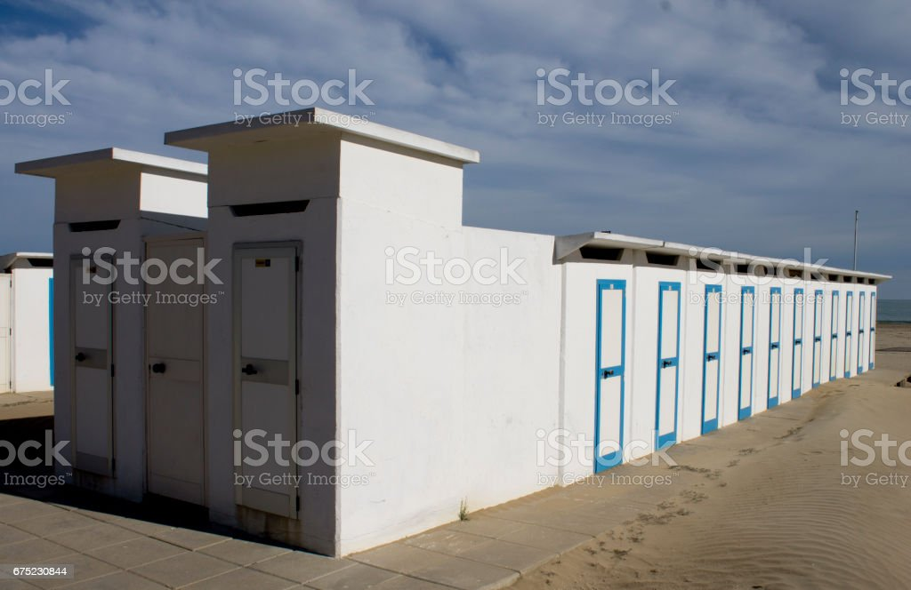 edificio sul mare royalty-free stock photo
