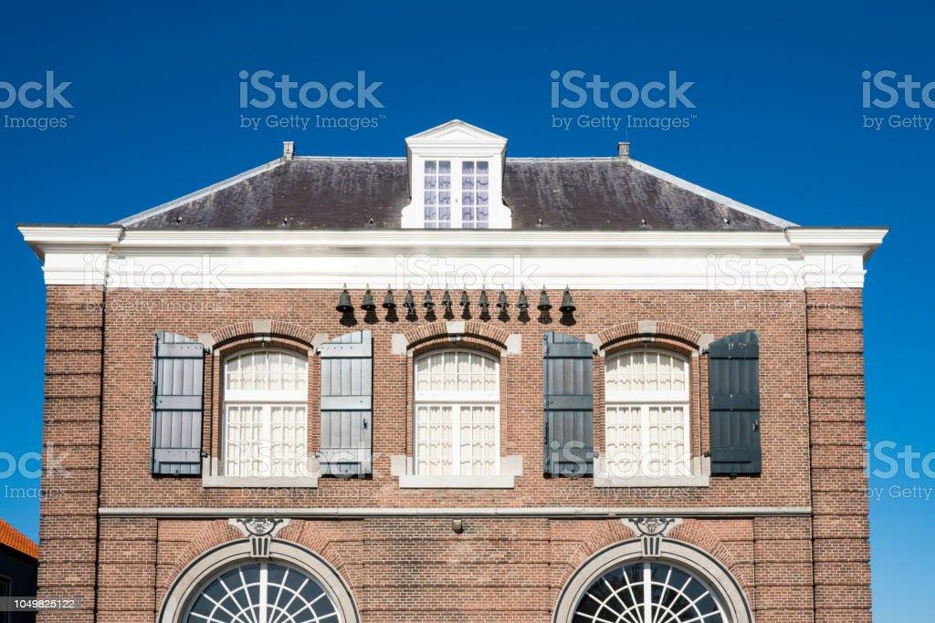 gebouw genaamd Arsenaal in Willemstad, Nederland foto