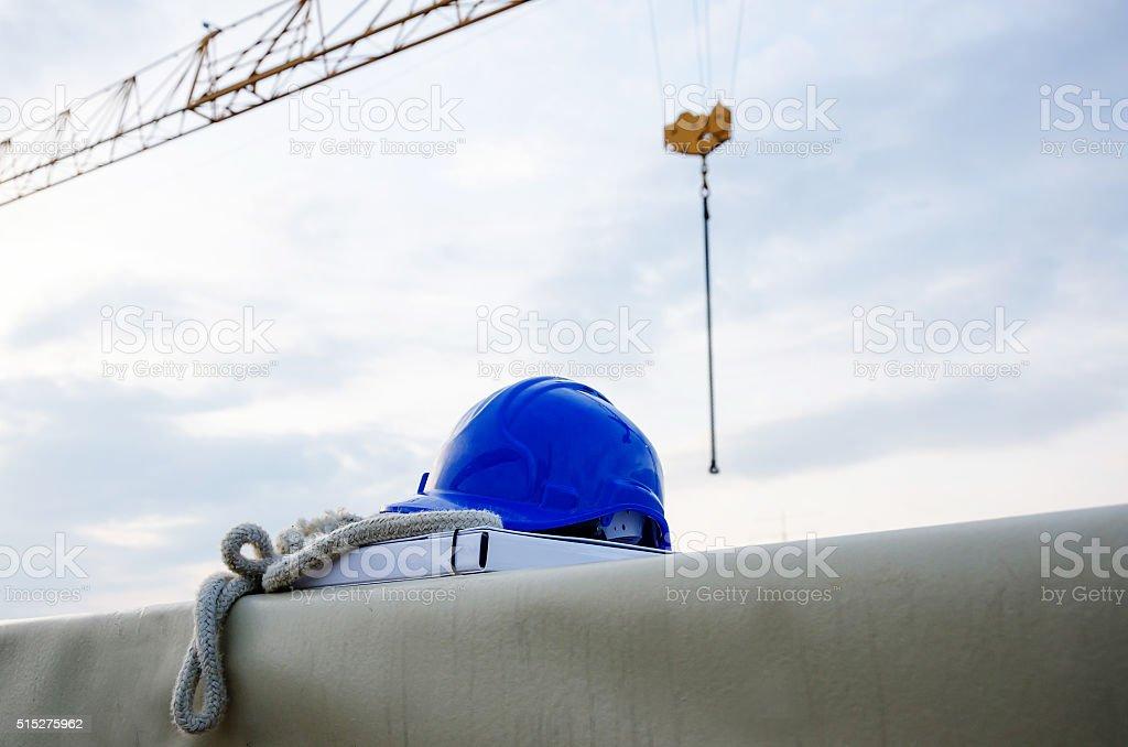 Da construção no local - foto de acervo