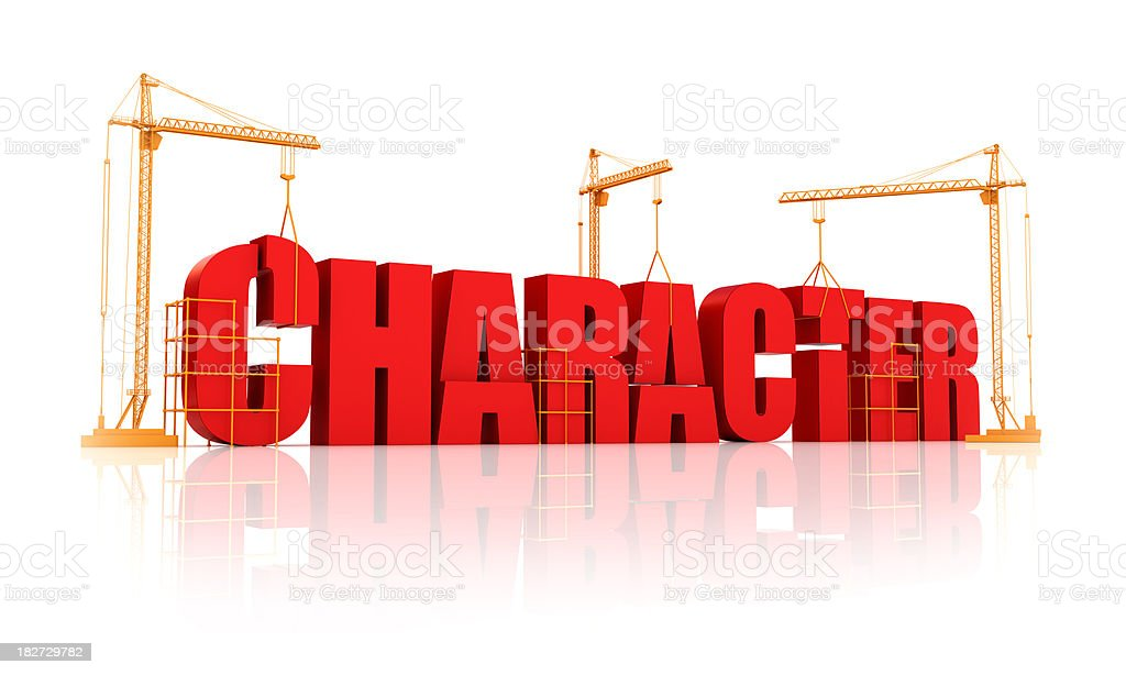 building character royalty-free stock photo