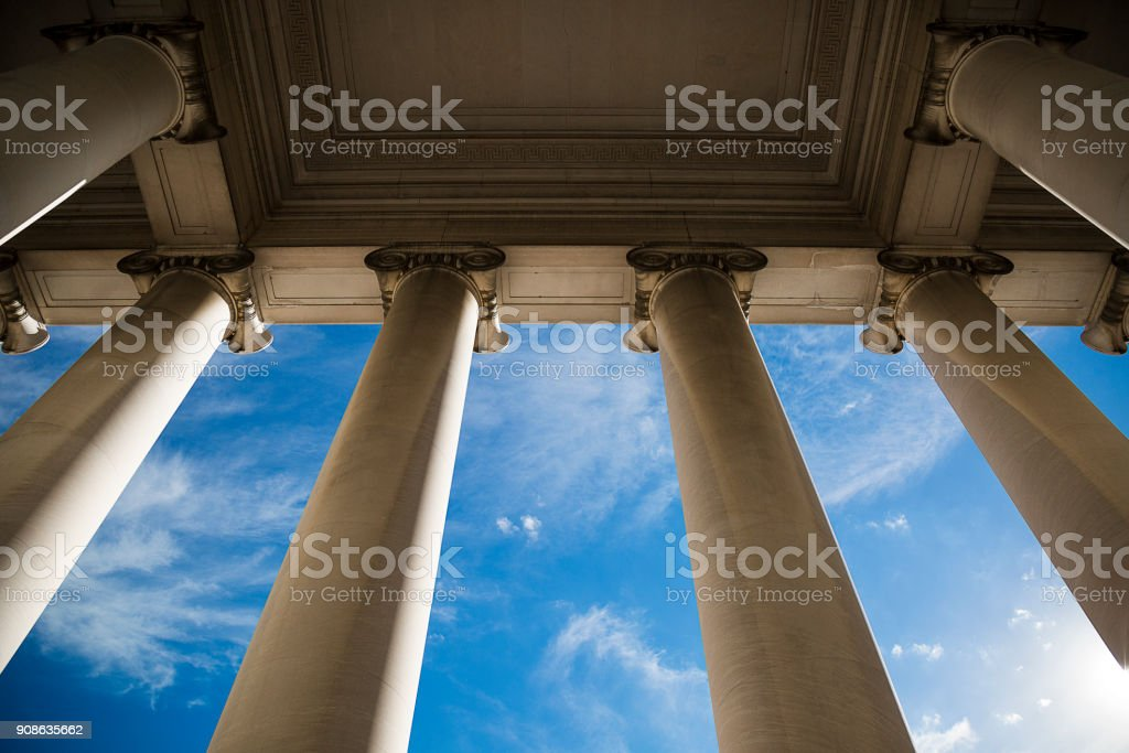 Building Column stock photo