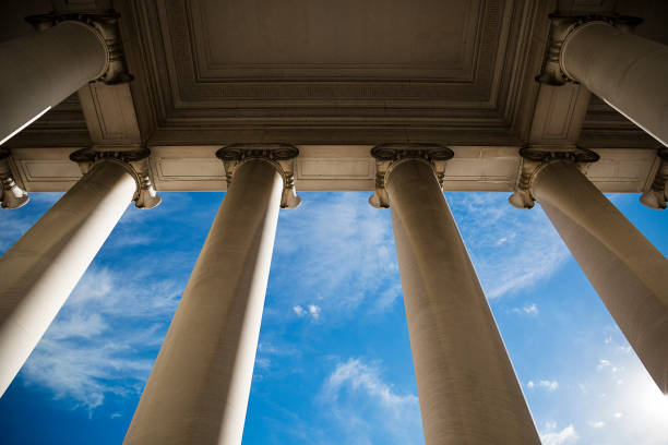 building column - government stock pictures, royalty-free photos & images