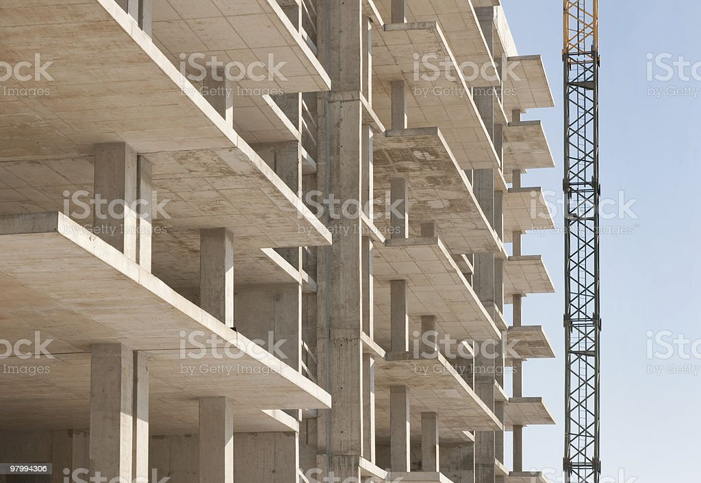 building construction royalty free stockfoto