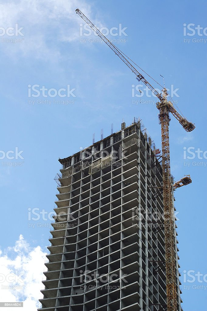 building construction site royalty-free stock photo