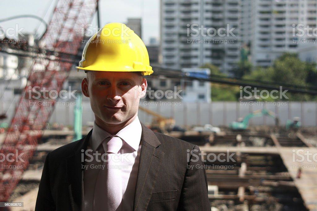 Building Contractor royalty-free stock photo