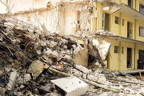 Gebäude Abbrucharbeiten Details – Foto