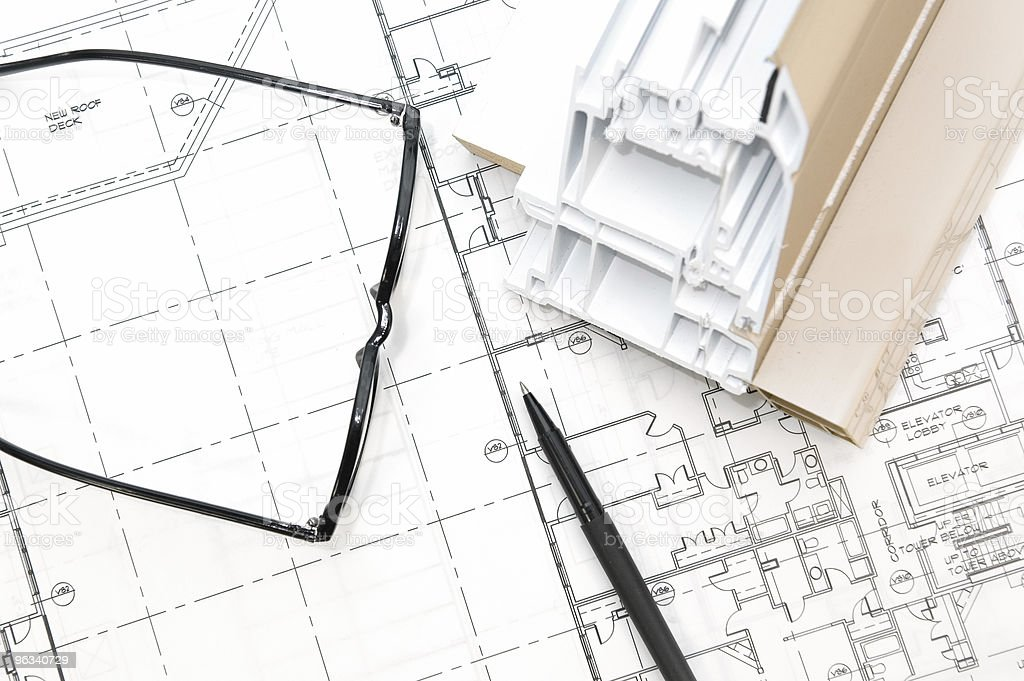 Building Design royalty-free stock photo