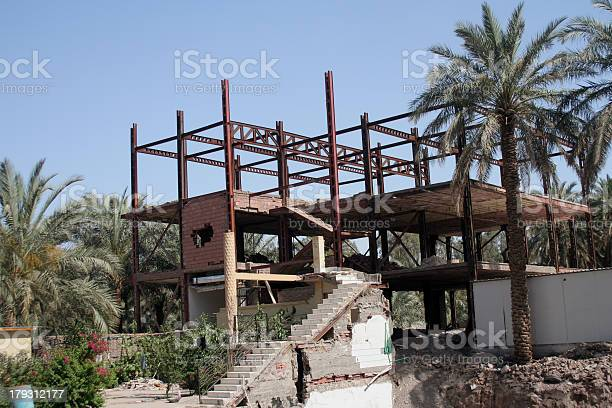 Building destroyed by earthquake Bam, Iran