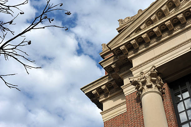 Building detail  ivy league university stock pictures, royalty-free photos & images
