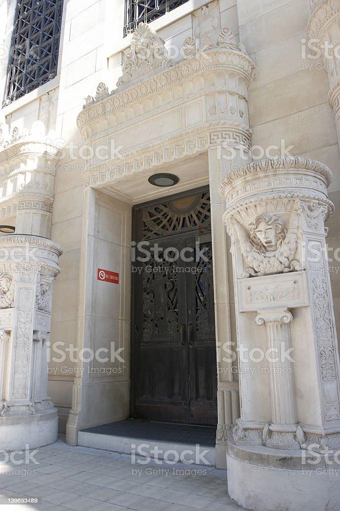 Building Door royalty-free stock photo