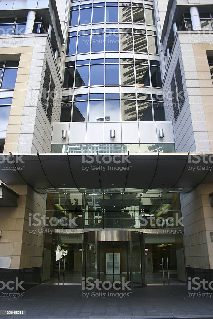 Building Entry royalty-free stock photo