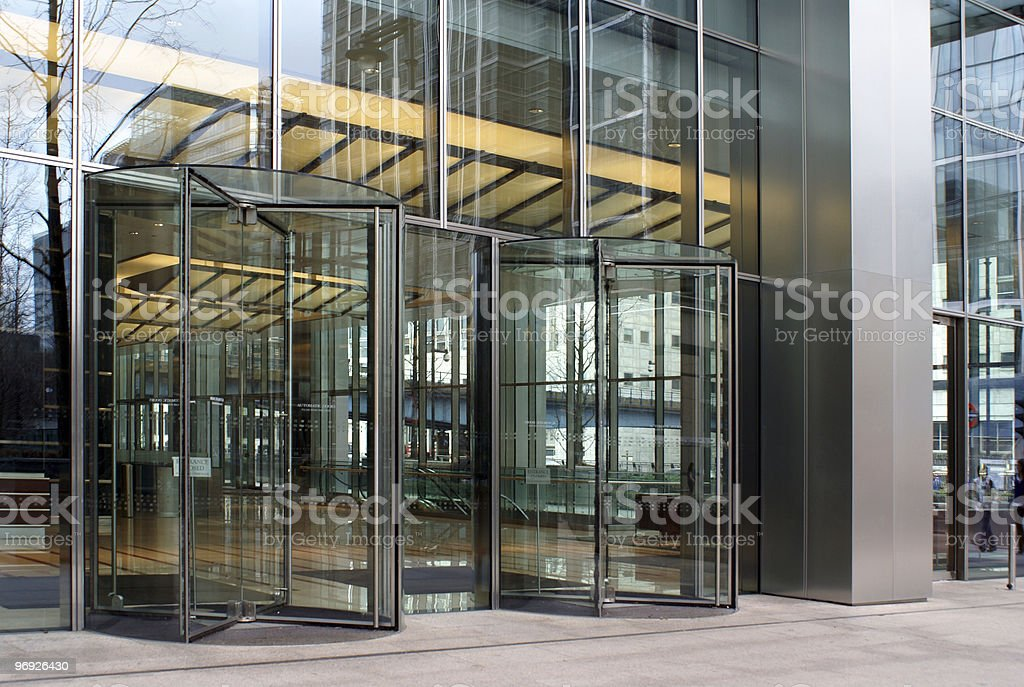 Building etrance royalty-free stock photo