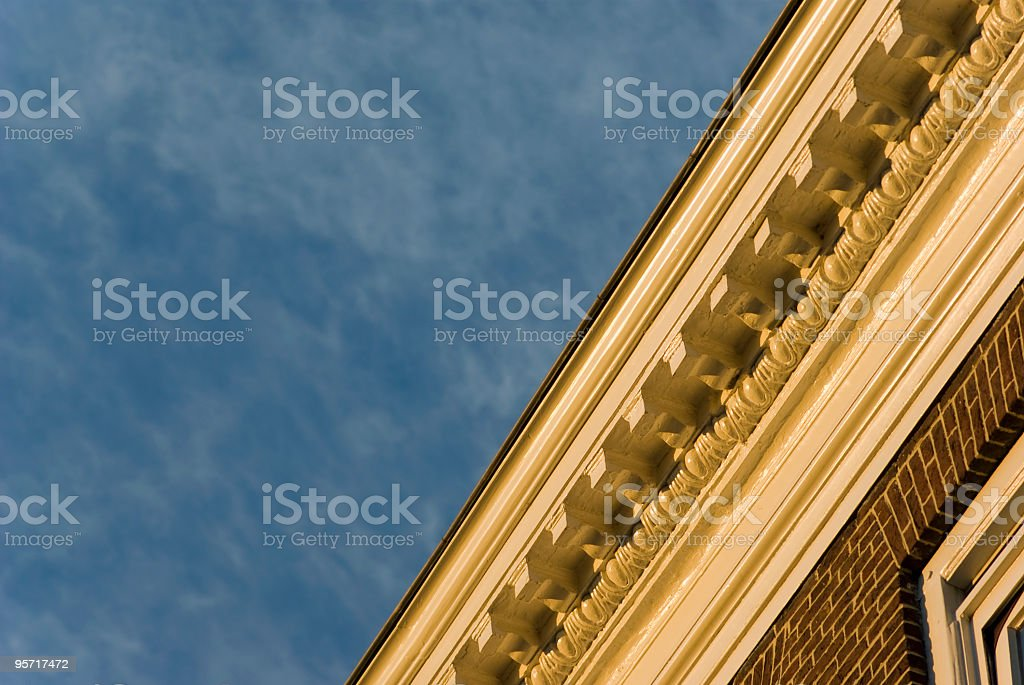 Building Exterior Detail royalty-free stock photo