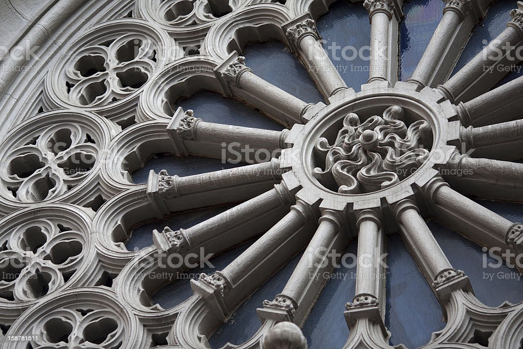 Building exterior details royalty-free stock photo