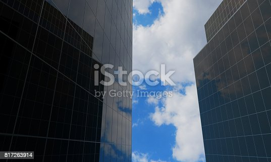490774222istockphoto Building Exterior, Glass - Material, Backgrounds, Office Building Exterior, Skyscraper 817263914