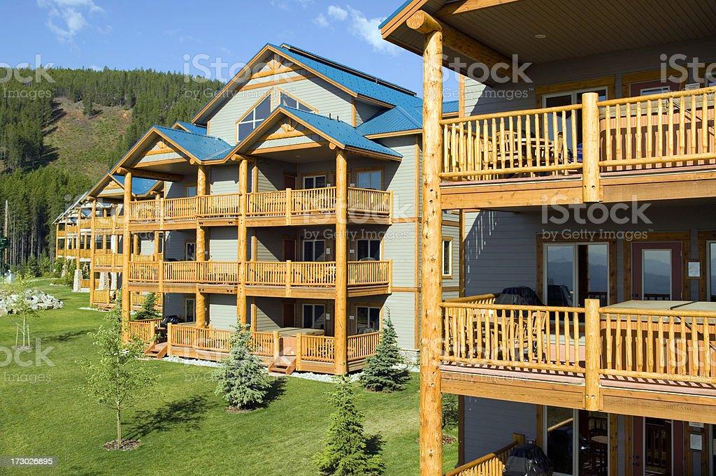 building exterior house construction ski resort royalty-free stock photo