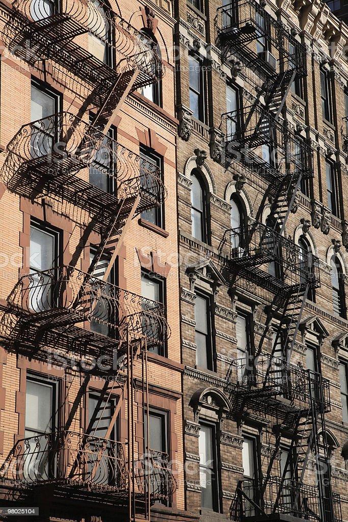 Building Facade, NYC royalty-free stock photo