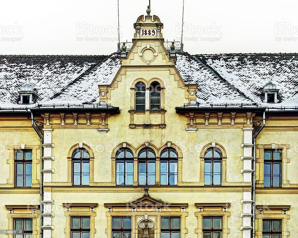 Building facade royalty-free stock photo