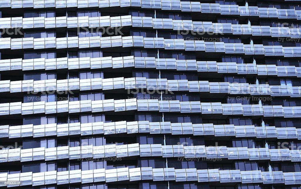 Facciata di edificio foto stock royalty-free