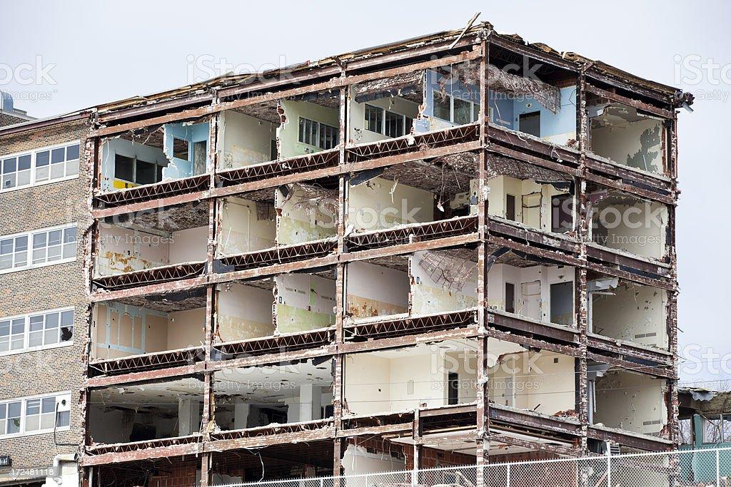 Building Framework Exposed royalty-free stock photo