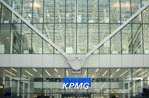 Kpmg Building Frankfurt Germany Stock Photo - Download Image Now