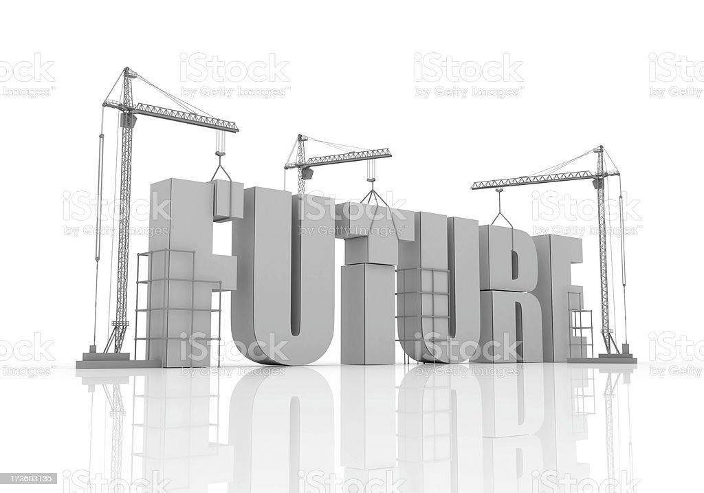 Building Future royalty-free stock photo