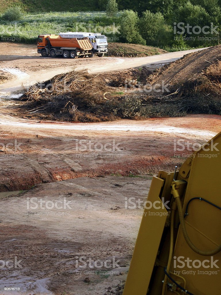 Building Ground royalty-free stock photo