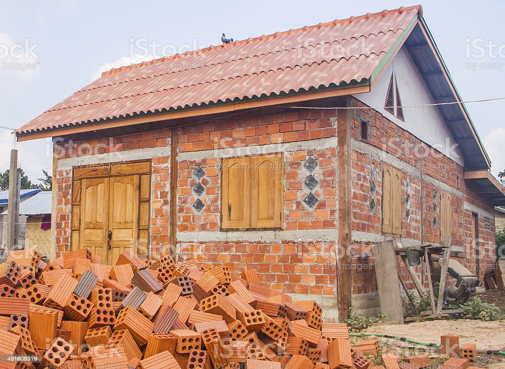 Building house royalty-free stock photo
