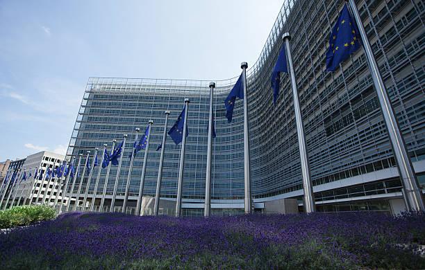 CEE edificio en Bruselas, Bélgica - foto de stock