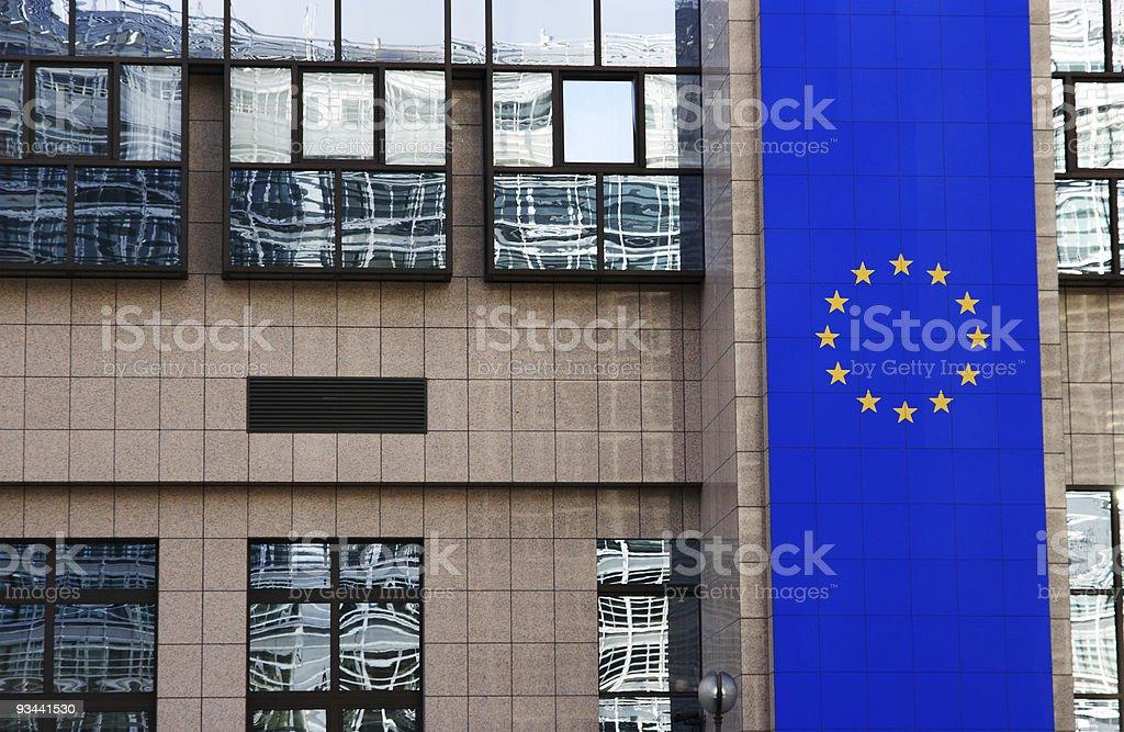 EU Gebäude in Brüssel Lizenzfreies stock-foto