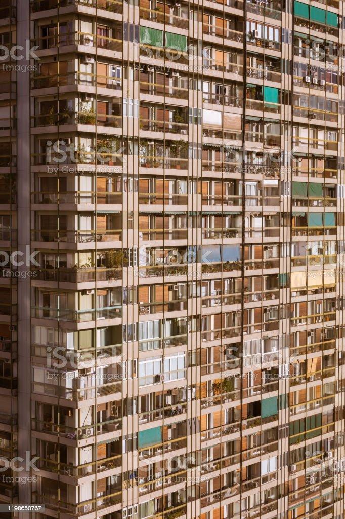 Gebouw in Buenos Aires, Argentinië - Royalty-free Appartement Stockfoto