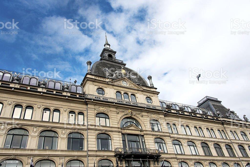 Building in Copenhagen stock photo