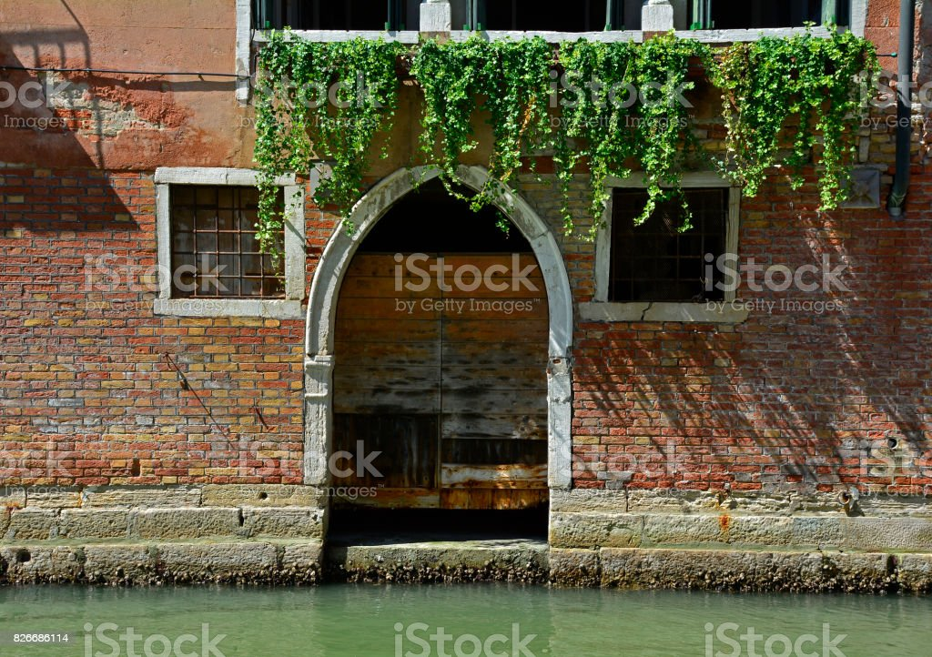 Building in Dorsoduro stock photo