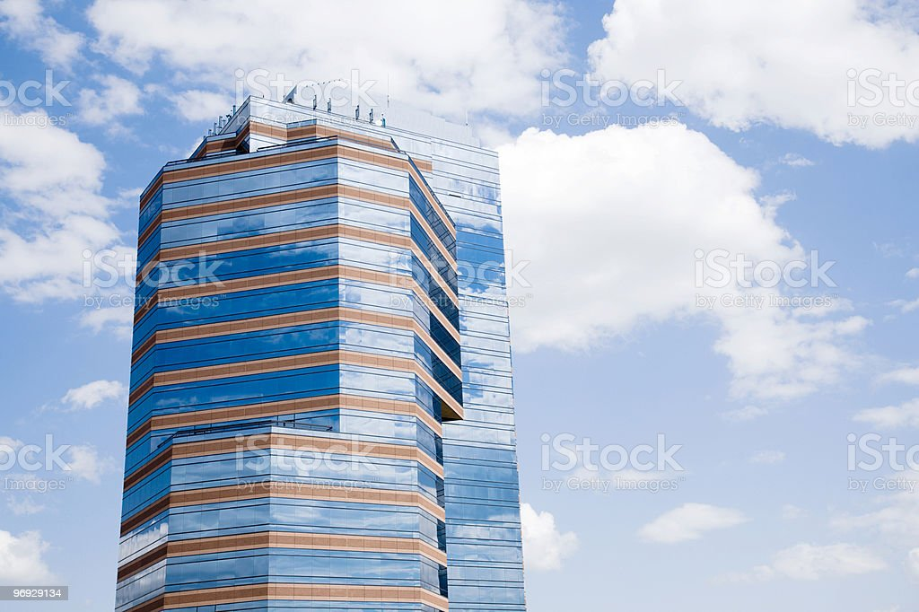Building in Downtown royalty-free stock photo