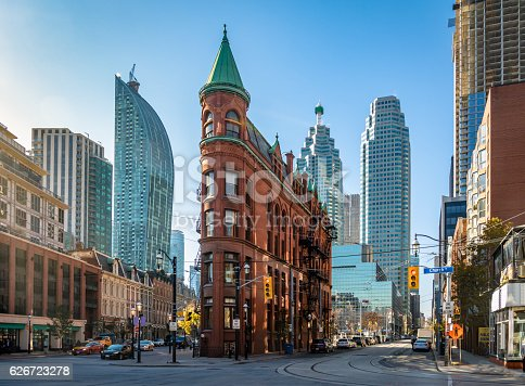 istock Building in downtown Toronto - Ontario, Canada 626723278